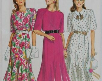 "1980s vintage original New Look sewing pattern women's dress Bust 32 1/2"""