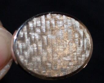 Krementz cuff links silvertone silver tone vintage