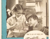 Vintage Frigidaire Cookbooks or Booklets from 1930s and 1940s