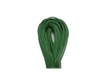 1.5mm Grass Green Greek Leather Cord 41795 (5 meters), Jewelry Cording, Necklace Cord, Bracelet Cord, 1.5mm Cording, 1.5mm Leather Cording