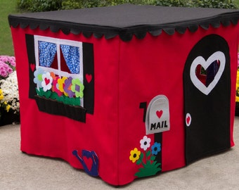 Card Table Playhouse, Sweet Street Cottage, Custom Order