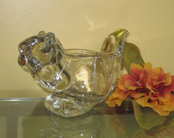 Avon Squirrel Candle Holder/Squirrel Toothpick Holder