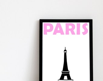 Paris Print // Paris Decor // France Art // Paris Wall Art // Paris Poster // Paris Art // French Gift // Paris Gift // French Poster