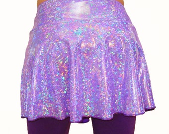 Holographic Dance Skirt, Dancing Tree Creations, Sparkle