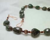 African Bloodstone Necklace