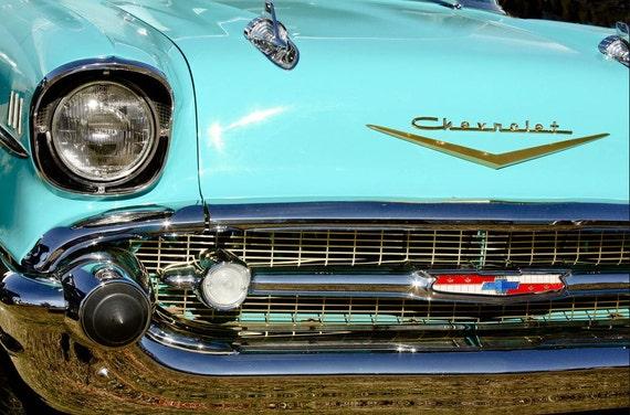 Chevrolet Bel Air Car Photography, Automotive, Auto Dealer, Muscle, Sports Car, Mechanic, Boys Room, Garage, Dealership Art