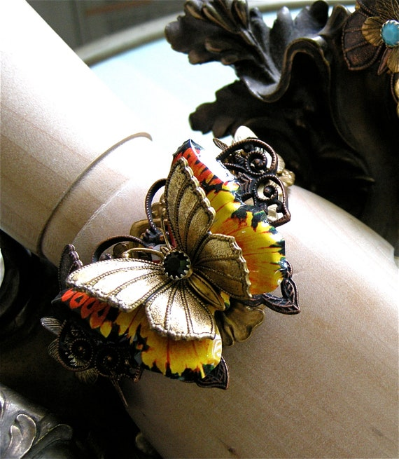 Butterfly Jewelry, Butterfly Bracelet, Gift for Her