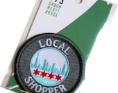 Local Shopper - Modern Merit Badge - Iron On Patch