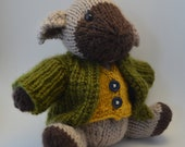 sir wilson ramsley a hand knitted sheep