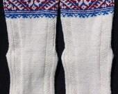Hand-knitted socks for women