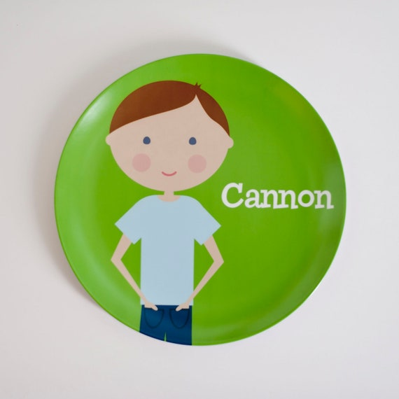 Personalized Kids Plate - 'Mini Me'