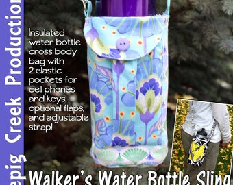 PDF - Walkers Water Bottle Sling Sewing Pattern