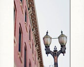 Fine Art Photograph -  st louis lafayette square photography vintage street lamp feminine pretty pink 8x10 affordable fine art wall art - Briole