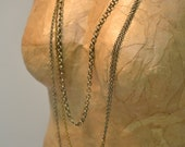 Necklace Mixed Link Chains Layering