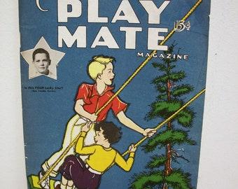 Children's PLAY MATE Magazine August 1950