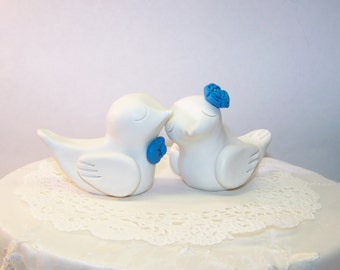 Elegant Bird Wedding Cake Topper - Choice of Colors - FAST SHIPPING
