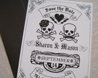 Till Death Do Us Part - Save The Date