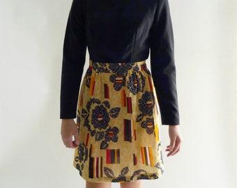 1960s dress - 60s mod mini dress
