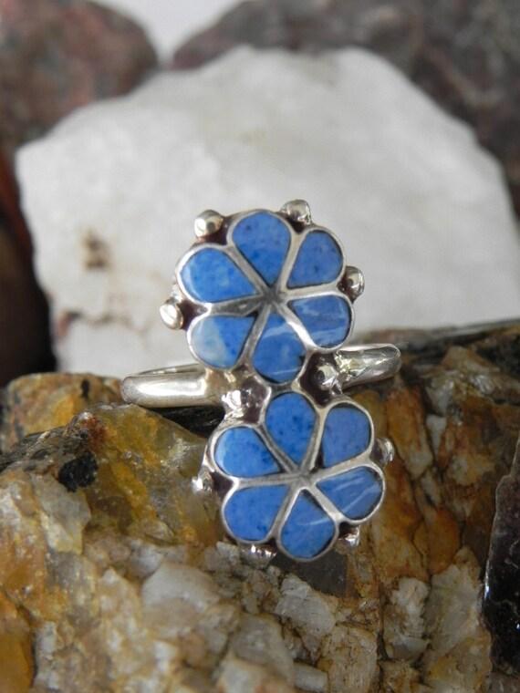 Blue Lapis Sterling Ring