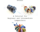The Art of Glass Disc Beads, A Lampwork Tutorial E-book by Helen Chalmers, UK SRA