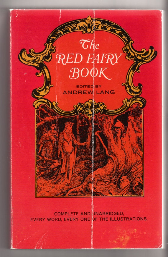 The Red Fairy Book, Edited by Andrew Lang, Vintage Paperback, 1966
