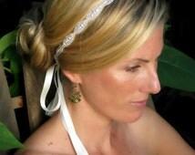 Caitline  Rhinestone bridal headband, wedding headband, wedding hair accessories, crystal headband, bridesmaid