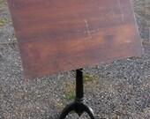 RESERVED - Vintage Industrial Drafting Table