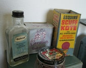 Instant Collection of Vintage Shoe Polish Containers