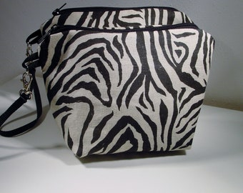 Set of 2 Wristlets, Cosmetic Cases, Mini Purses, Jewelry Pouches, Travel accessories