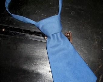 Dusty Blue Shorty Tie