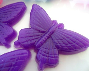 25 BUTTERFLY BULK SOAPS - Butterfly Party Favor, Butterfly Birthday Party - Butterfly Baby Shower - Butterfly Wedding Favor (Soaps Only)