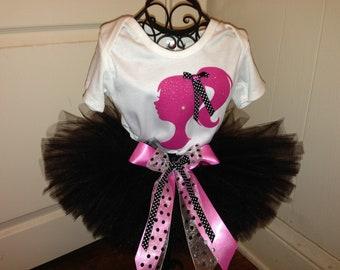 Barbie Tutu Set. Black