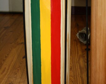 Rastafari Large Kette  Specialty Wood and Painted MADE TO ORDER