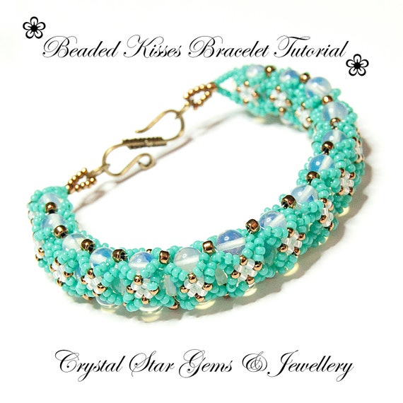 Kisses Bracelet Tutorial