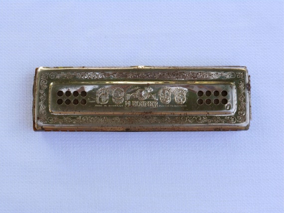 Vintage m hohner echo bell metal reeds harmonica by 2cool2toss for Vintage m bel küche