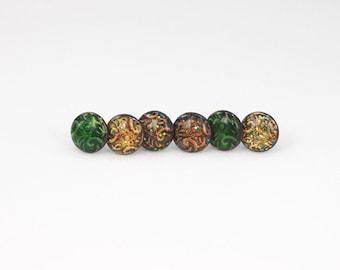 Unisex Geometric Druzy Galaxy Shine earrings stud style - Choose your color