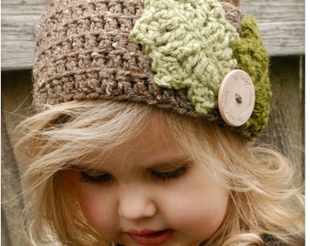 Crochet PATTERN-The Holleigh Warmer (Toddler, Child, and Adult sizes)