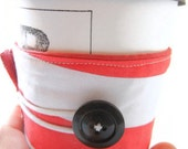 Coffee Cozy / Tea Sleeve: French Stripes