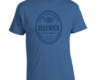 Home Brewer Seal - Craft Beer Homebrew T-Shirt - Fathers Day Birthday Christmas Gift