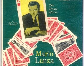 Magic Mario Lanza,  RCA Red Seal LP  LM-1943, Vintage Vinyl Record Album