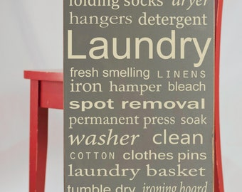 Popular items for laundry room decor on Etsy