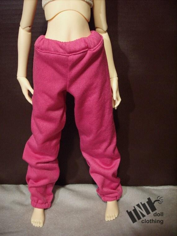 60cm BJD SD SD13 Pink Sweatpants