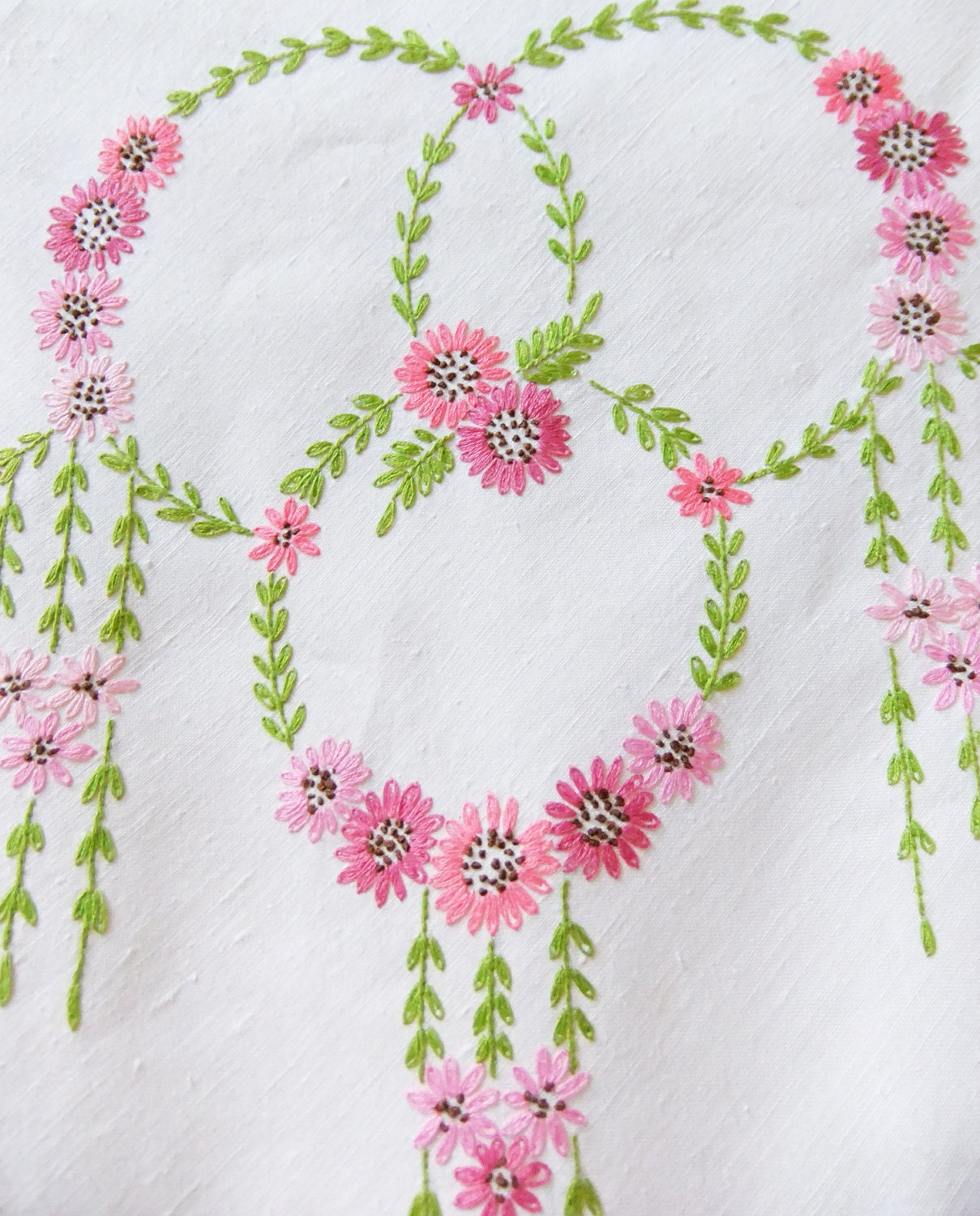 Crafts With Vintage Table Cloths