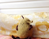 Cute and sweet hand knitted pear giant amigurumi