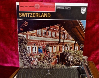 SWITZERLAND - Vintage Vinyl Record Album...Holland Pressing
