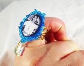 Riot Grrrl Kathleen Hanna Crystal Ring