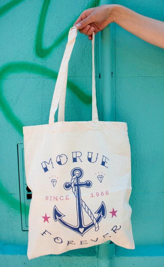 "Tote Bag ""Morue Forever"""