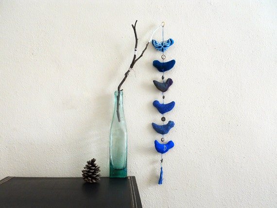 String of Blue Birds