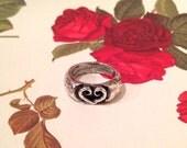 "Heart ring the ""Eros"" Ring"
