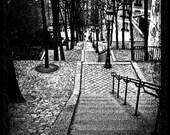 Black and White Photograph - Parisian January- Limited Edition print no 5/75